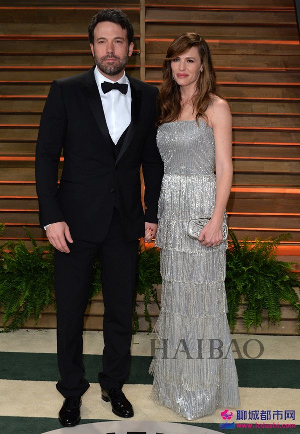 本・阿弗莱克 (Ben Affleck) 与詹妮弗・加纳 (Jennifer Garner)
