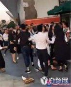 广西女白领约微信群言语起冲突 约群架现场视频曝光